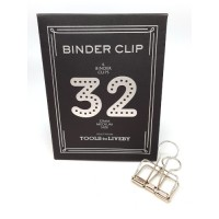 Binder clip 32 zilverkleurig- Tools to Liveby