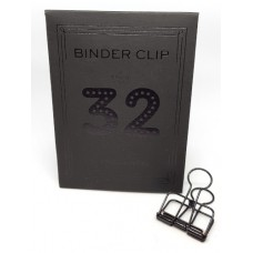 Binder clip 32 zwart- Tools to Liveby