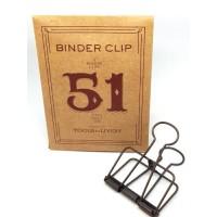 Binder clip 51 bronskleurig- Tools to Liveby