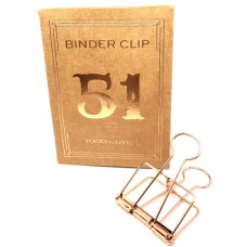 Binder clip 51 rosé- Tools to Liveby
