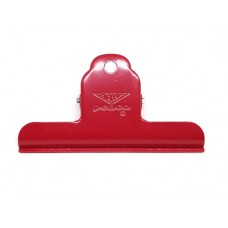 Penco - papierklem metaal rood gecoat - groot