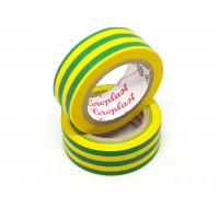 Coroplast isolatietape - geel/groen