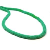 Katoen koord 6 mm blauw groen
