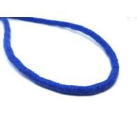Katoen koord 6 mm donker blauw