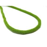 Katoen koord 6 mm groen