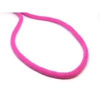 Katoen koord 6 mm roze