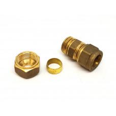 Knelkoppeling 10 mm recht