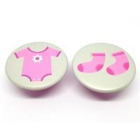 Meubelknop meisjes baby kamer