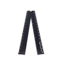 Midori inklapbare liniaal - aluminium 30 cm