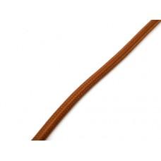 Strijkijzersnoer bruin - mokka