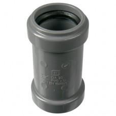 PVC overschuifmof 125 mm