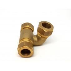 Knelkoppeling 15 mm passeerstuk