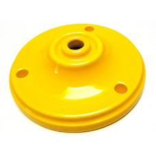 Porseleinen plafondkap geel