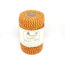 Rol gekleurd touw