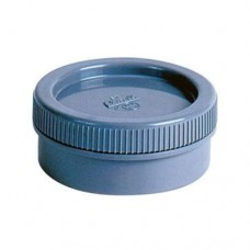 PVC eindkap schroefdeksel 50 mm