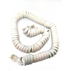 Telefoon krulsnoer - met RJ11 stekkers