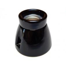 Toneelfitting zwart porselein
