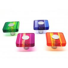 Meubelknop vierkant acrylaat