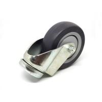 Zwenkwiel, wiel diameter 75 mm